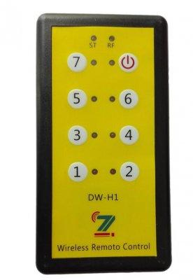 手持遥控器控制远端的无线模块输出
