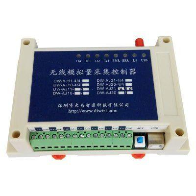 DW-AJ11-2/0 2路模拟量采集控制器|远程4~20mA电流传输